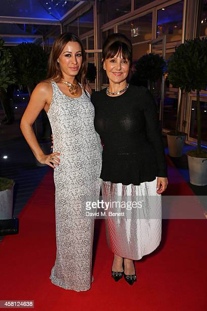 Alana and Arlene Phillips attend Battersea Dogs Cats Home's 'Collars Coats Gala Ball' at Battersea Evolution on October 30 2014 in London England