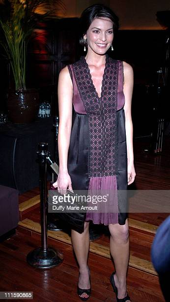 Alana De La Garza during Celebrity Rainforest Action Network Benefit at The Plumm in New York City New York United States