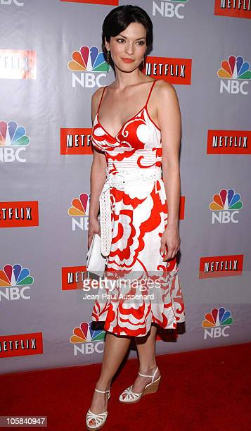 Alana De La Garza during NBC Summer 2006 TCA Party Arrivals at Ritz Carlton in Pasadena California United States