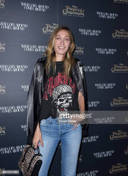Alana Hadid attends the Pirates of the Caribbean special event at What Goes Around Comes Around on May 17 2017 in Beverly Hills California