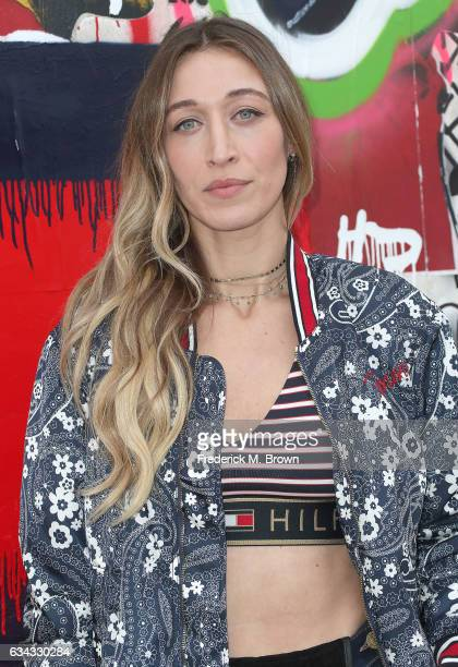 Alana Hadid attends Tommy Hilfiger Spring 2017 Women's Runway Show at the Windward Plaza on February 8 2017 in Venice California