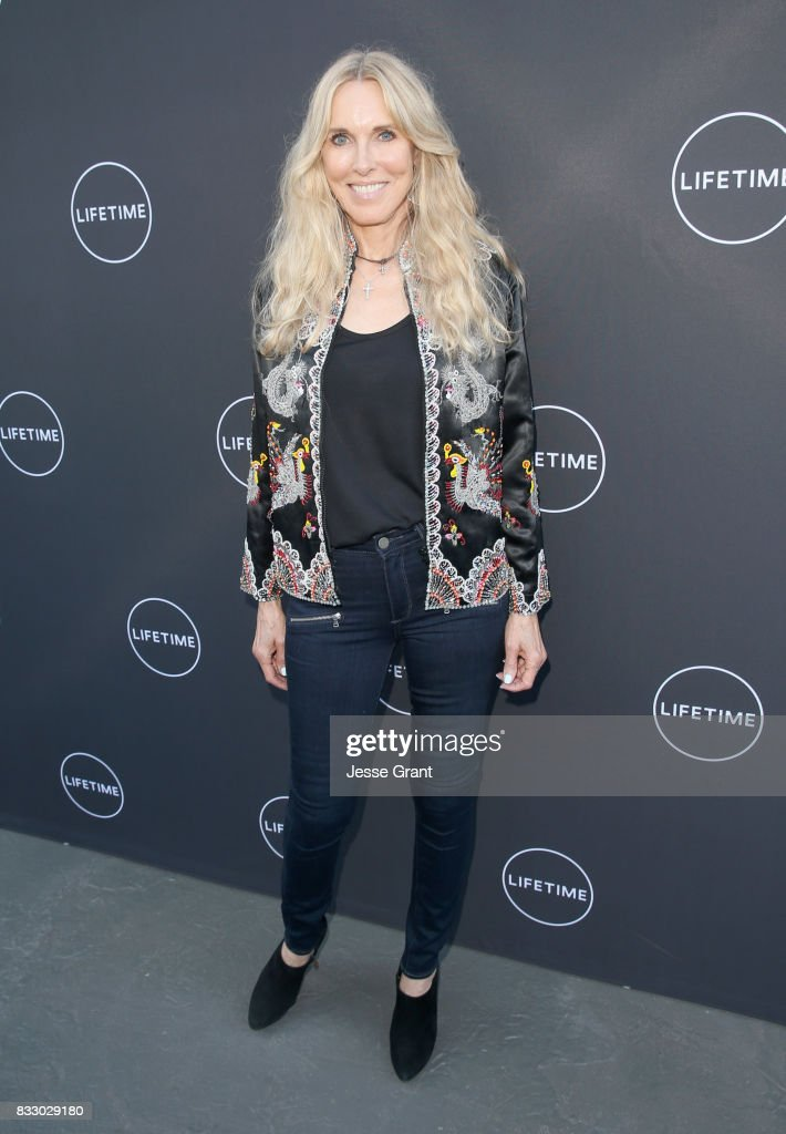 Alana Stewart attends Lifetime's New Docuseries 'Growing Up Supermodel's' Exclusive LIVE Viewing Party Hosted By Andrea Schroder on August 16, 2017 in Studio City, California.