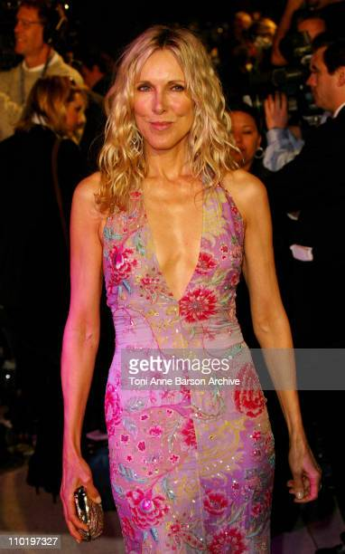 Alana Stewart during 2004 Vanity Fair Oscar Party Arrivals at Mortons in Beverly Hills California United States