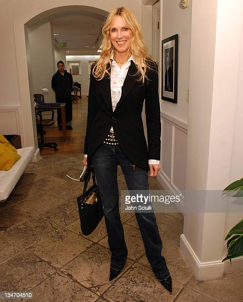 Alana Stewart during Frederic Fekkai 2007 Red Carpet Beauty Experience Day 1 at Frederic Fekkai Salon in Beverly Hills California United States