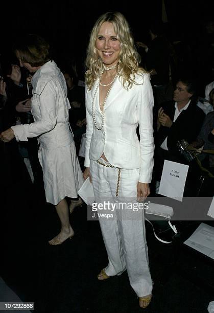 Alana Stewart during MercedesBenz Fall 2004 Fashion Week at Smashbox Studios Jenni Kayne Front Row at Smashbox Studios in Culver City California...
