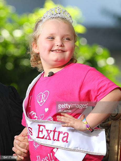 Alana Thompson 'Honey Boo Boo' is seen at The Grove on October 15 2012 in Los Angeles California