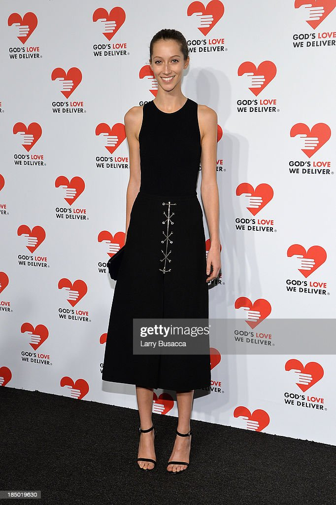 Alana Zimmerman attends God's Love We Deliver 2013 Golden Heart Awards Celebration at Spring Studios on October 16, 2013 in New York City.
