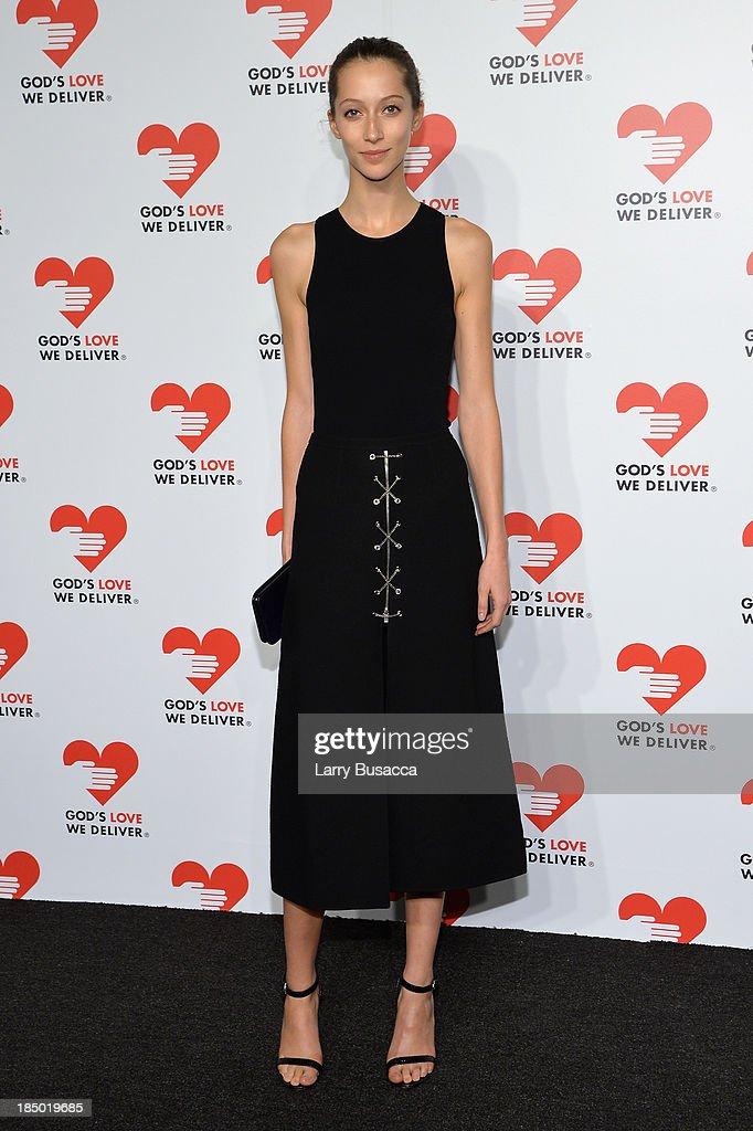 Alana Zimmerman attends God's Love We Deliver 2013 Golden Heart Awards Celebration at Spring Studios on October 16, 2013 in New York City.