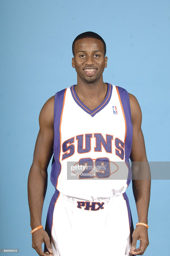Alando Tucker of the Phoenix Suns poses for a portrait during NBA Media Day on September 29 at US Airways Center in Phoenix Arizona NOTE TO USER User...