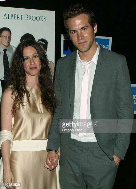 Alanis Morissette and boyfriend Ryan Reynolds