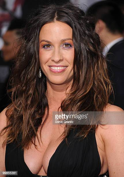 Alanis Morissette attends the 'Prince of Persia The Sands of Time' Los Angeles Premiere at Grauman's Chinese Theatre on May 17 2010 in Hollywood...
