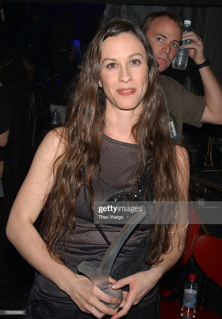 Alanis Morissette during 10th Annual Rock the Vote Patrick Lippert Awards at Roseland Ballroom in New York City, NY, United States.