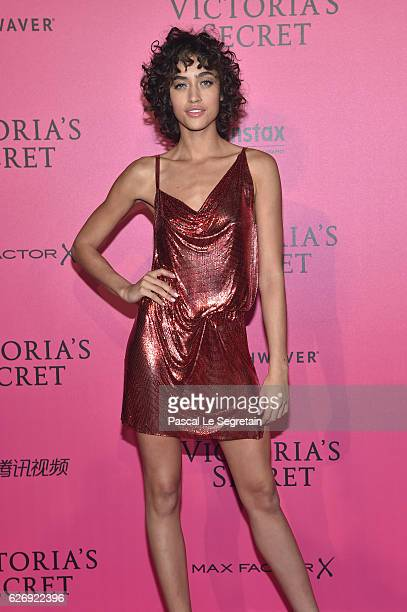 Alanna Arrington attends the 2016 Victoria's Secret Fashion Show after party on November 30 2016 in Paris France