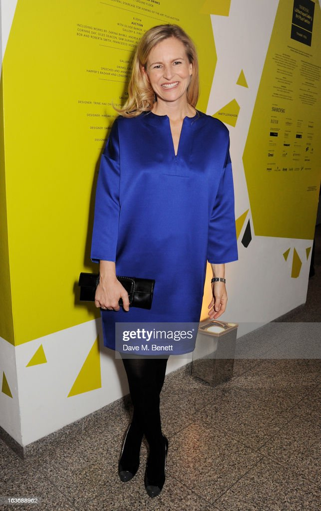 Alannah Weston attends the Swarovski Whitechapel Gallery Art Plus Fashion fundraising gala in support of the gallery's education fund at The Whitechapel Gallery on March 14, 2013 in London, England.