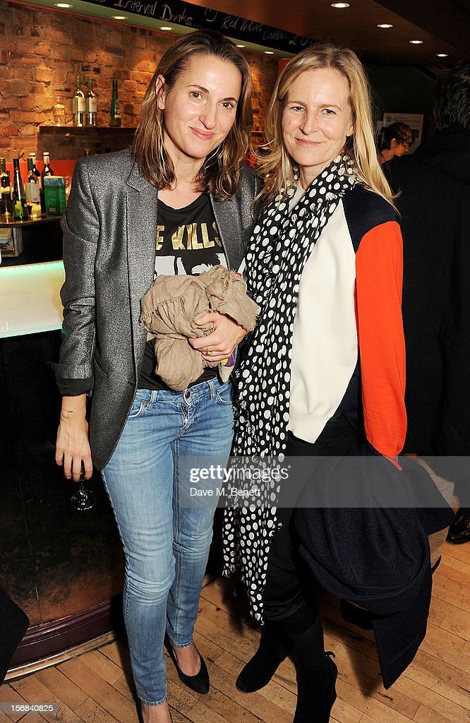 Alannah Weston (R) attends Tricycle Theatre's 'Red Velvet: The Director's Party' on November 22, 2012 in London, England.