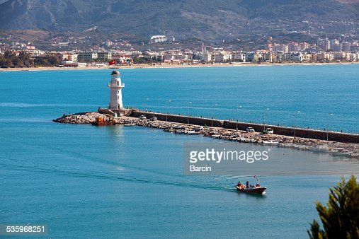 Alanya Lighthouse : Stock Photo