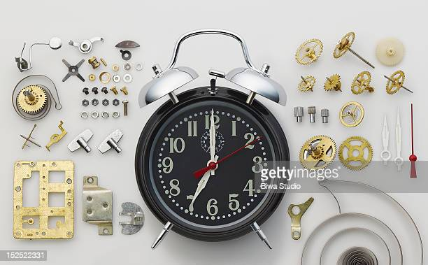 Alarm clock and parts