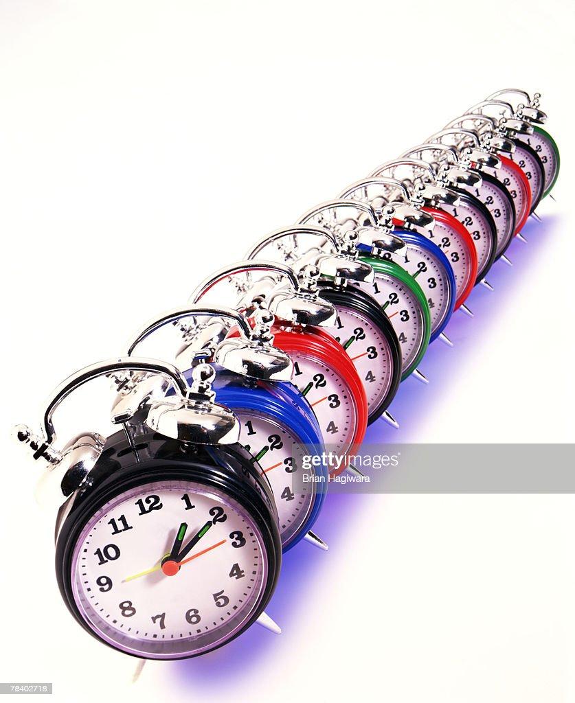 Alarm clock concept : Stock Photo