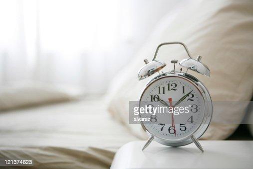 Old Fashioned Bedside Clock