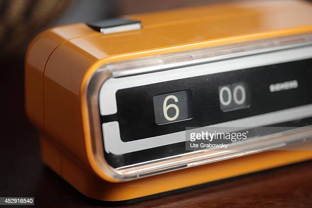 Alarm clock set on 6 o'clock in the morning on December 03 in Bonn Germany