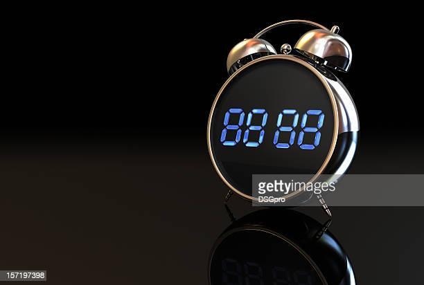 アラーム付きデジタル時計 001