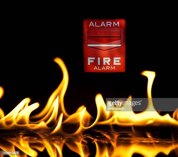 Wecker In Flammen