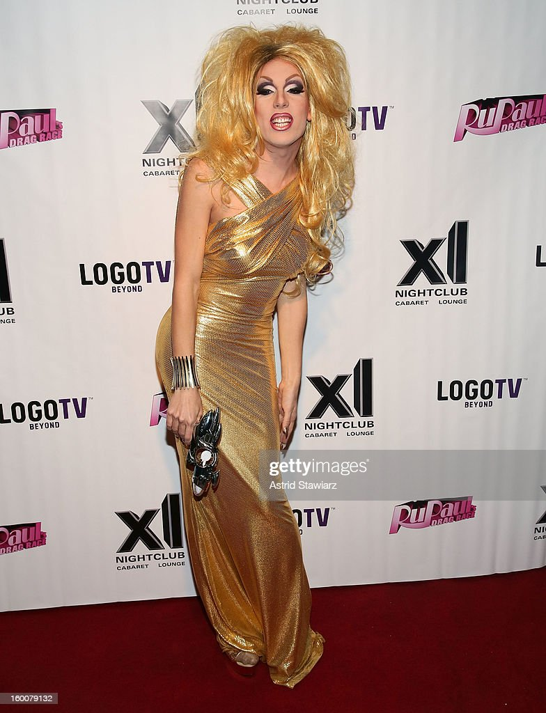 Alaska attends 'Rupaul's Drag Race' Season 5 Premiere Party at XL Nightclub on January 25, 2013 in New York City.