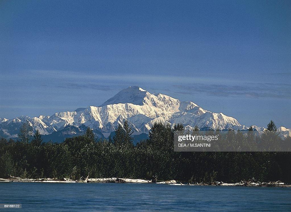 USA, Alaska, Denali National Park, Mount McKinley