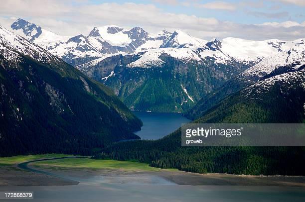 Alaska from the air.