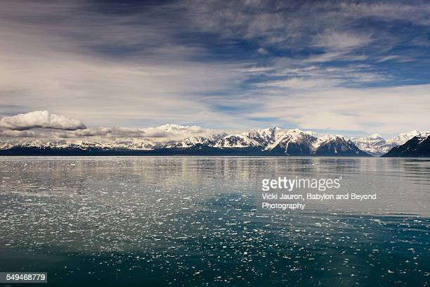 Alaska Ice, Water, Mountains and Sky
