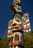 USA, Alaska, Ketchikan, totem pole