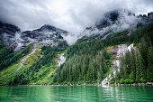 Alaska Landscape, Inside Passage, Alaska, USA