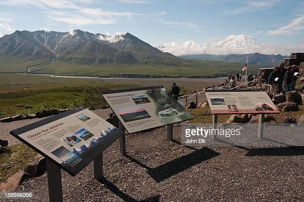 Alaska Range fr Eielson Visitor Center