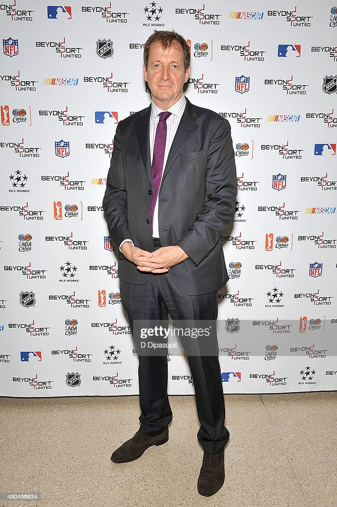 Alastair Campbell attends Beyond Sport United - Workshops & Panels at Yankee Stadium on June 11, 2014 in the Bronx borough of New York City.