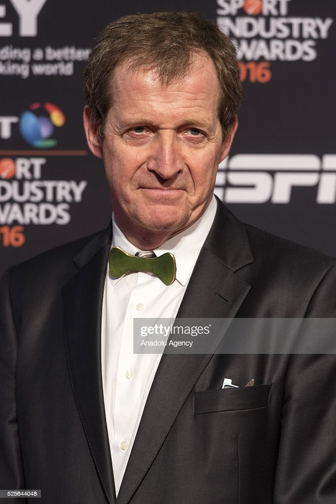 Alastair Campbell attends the BT Sport Industry Awards 2016 in London, United Kingdom on April 28, 2016.