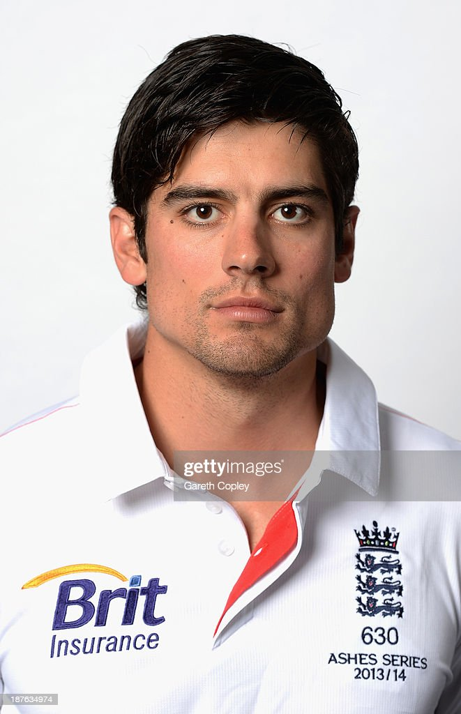 Alastair Cook poses during an England cricket headshots session at the InterContinental Sydney on November 11, 2013 in Sydney, Australia.
