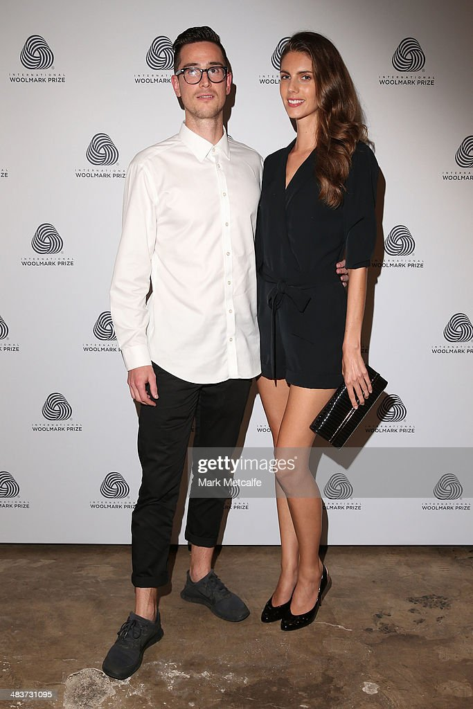 Alastair McCann and Nerida Lennon at the International Woolmark Prize during Mercedes-Benz Fashion Week Australia 2014 at Carriageworks on April 10, 2014 in Sydney, Australia.