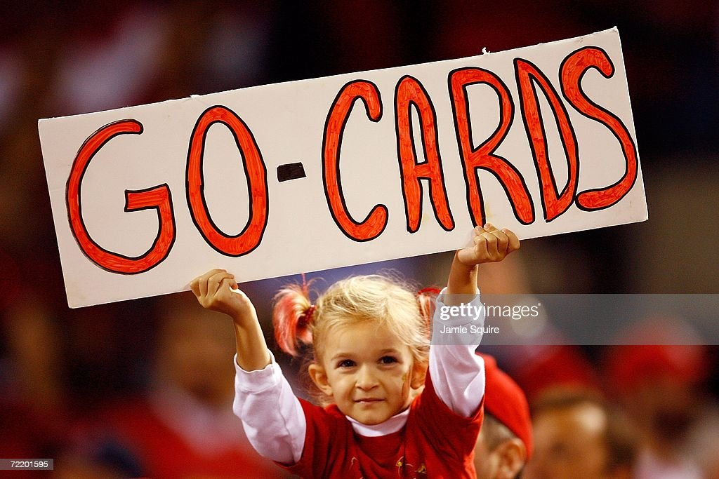 Image result for go cards sign @ busch