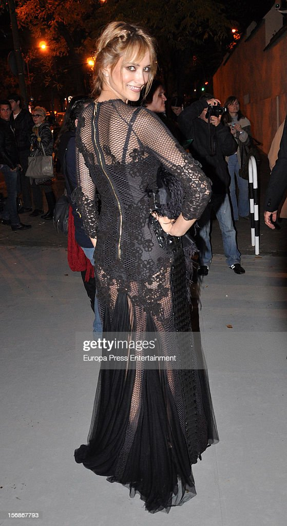 <a gi-track='captionPersonalityLinkClicked' href=/galleries/search?phrase=Alba+Carrillo&family=editorial&specificpeople=6947498 ng-click='$event.stopPropagation()'>Alba Carrillo</a> arrives at Marie Claire Prix de la Moda Awards 2012 on November 22, 2012 in Madrid, Spain.