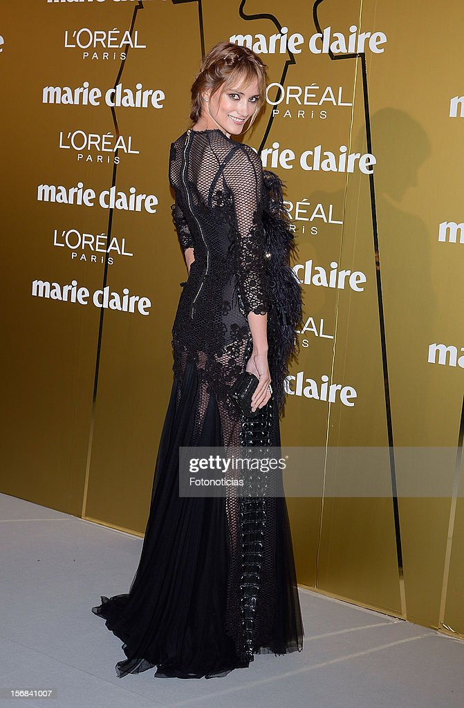 Alba Carrillo attends 'Marie Claire Prix de la Mode 2012' ceremony at the French Ambassadors Residence on November 22, 2012 in Madrid, Spain.