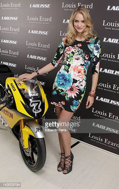 Alba Carrillo attends Team LaGlisse new official watch presentation photocall at Blablabla bar on March 28 2012 in Madrid Spain