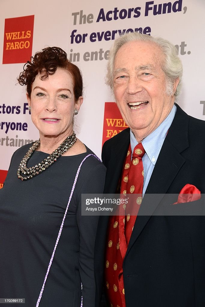 Alba Francesca and James Karen arrive at The Actors Fund 17th Annual Tony Awards Viewing Party held at Taglyan Cultural Complex on June 9, 2013 in Hollywood, California.