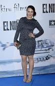 Alba Garcia attends the premiere of 'El Nino' at Kinepolis Cinema on August 28 2014 in Madrid Spain