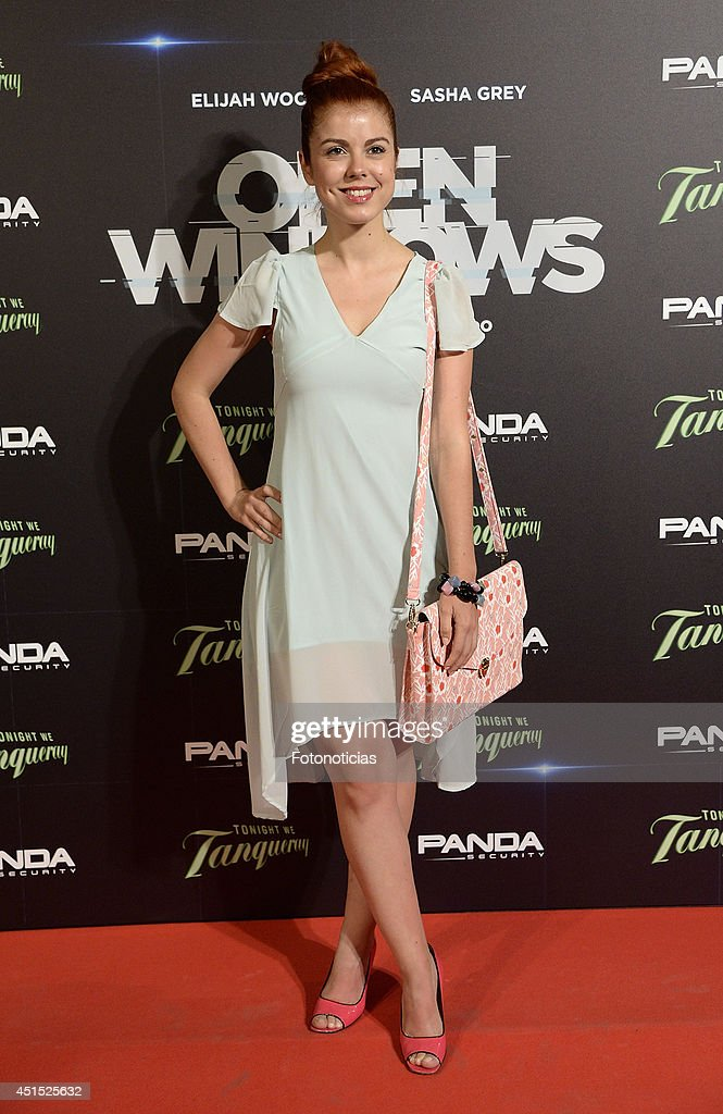 Alba Mesa attends the 'Open Windows' premiere at Capitol cinema on June 30, 2014 in Madrid, Spain.