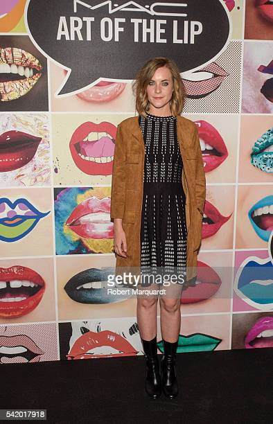 Alba Ribas attends a photocall for the MAC store opening on June 21 2016 in Barcelona Spain