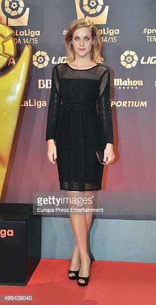Alba Ribas attends the LFP Awards Gala 2015 on November 30 2015 in Barcelona Spain
