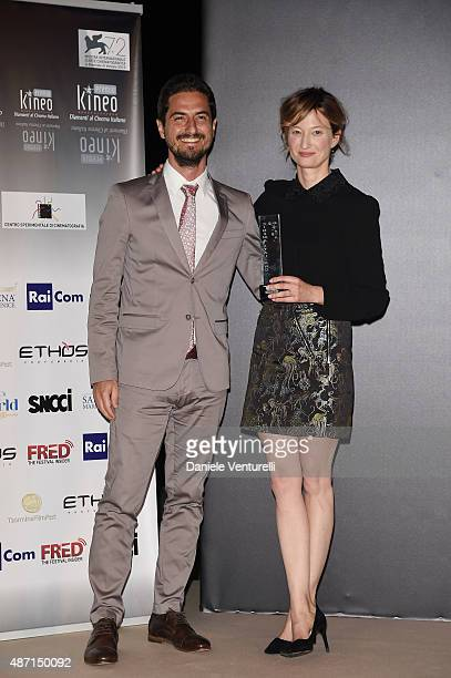 Alba Rohrwacher attend the 'Kineo Award' Ceremony during the 72nd Venice Film Festival at on September 6 2015 in Venice Italy