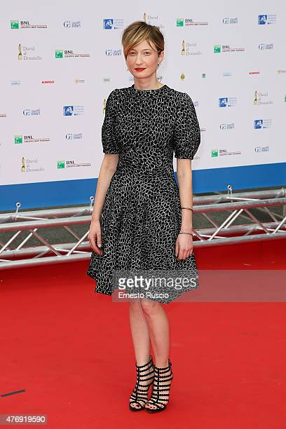 Alba Rohrwacher attends the '2015 David Di Donatello' Awards Ceremony at Teatro Olimpico on June 12 2015 in Rome Italy