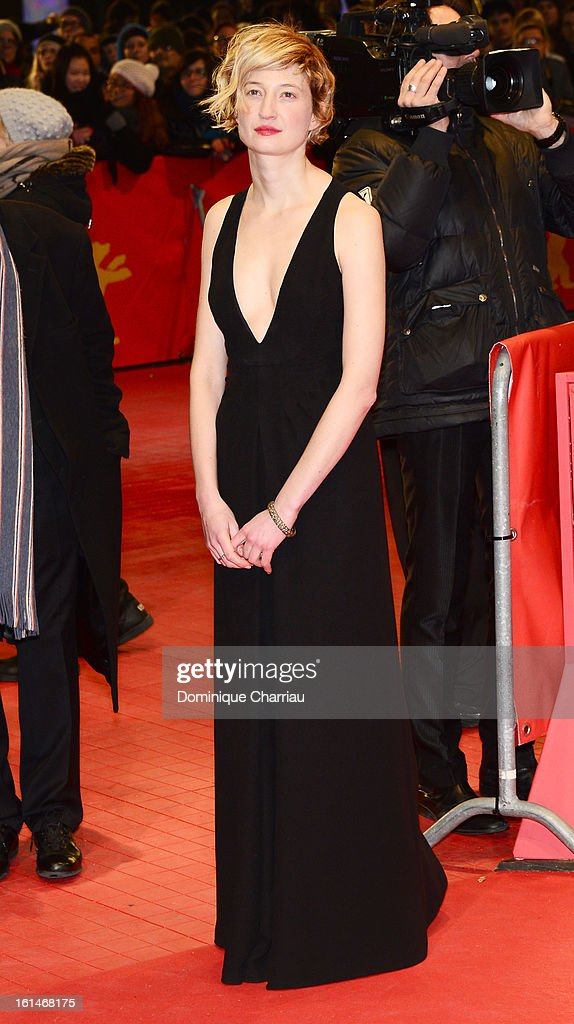 Alba Rohrwacher attends the 'Before Midnight' Premiere during the 63rd Berlinale International Film Festival at the Berlinale Palast on February 11, 2013 in Berlin, Germany.