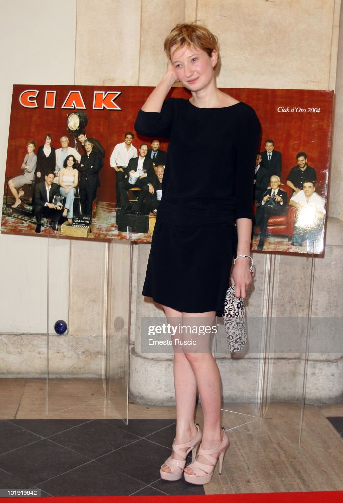 Alba Rohrwacher attends the 'Ciak D'Oro' awards ceremony at Palazzo Valentini on June 8, 2010 in Rome, Italy.